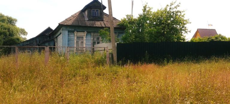 Дом с двумя участками в д. Юрьево